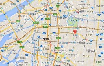 国語塾大阪:アクセス地図